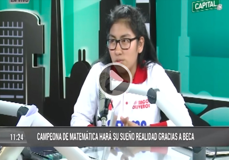 Video: Tania medina en Capital tv con Milagros Leiva