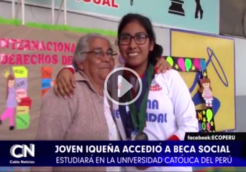 Video: Tania Medina en conferencia de prensa en Ica